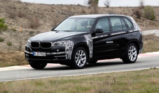 BMW X5 eDrive action