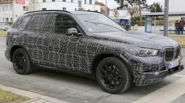 BMW X5 2018 spy front quarter