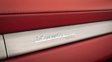 Porsche Boxster 25 Years - interior detail
