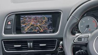 Audi SQ5 sat-nav