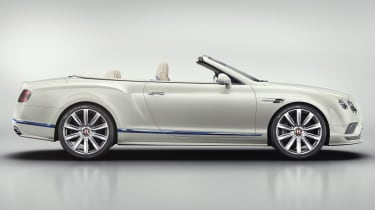 Bentley Continental GT Mulliner Galene Edition side
