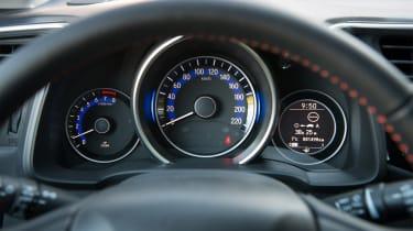 Honda Jazz - dials