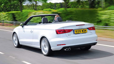 Audi A3 Cabriolet - rear tracking