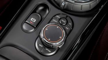 MINI Cooper D Clubman 2015 buttons