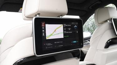 BMW 7 Series - rear screen