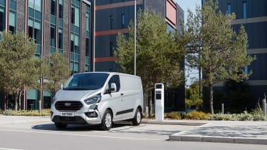 Ford Transit Custom PHEV - Front