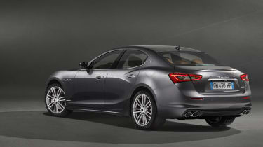 2018 Maserati Ghibli facelift rear quarter