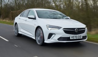 Vauxhall Insignia GSi - front tracking