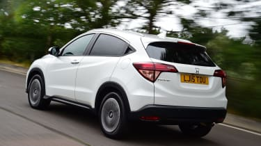 Honda HR-V - rear tracking