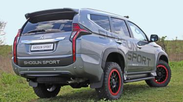 Mitsubishi Shogun Sport SVP Concept - rear