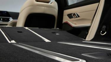 BMW 3 Series Touring - studio boot detail
