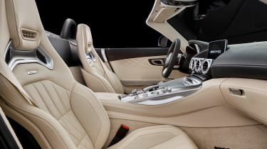 Mercedes-AMG GT C Roadster - front seats