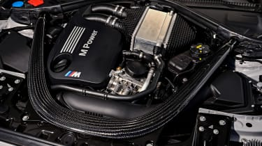 BMW M2 Competition - engine