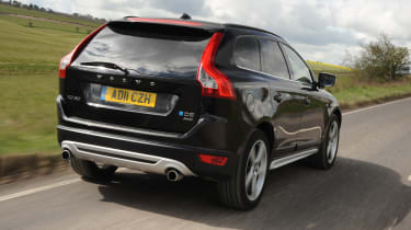 Volvo XC60 D3 DRIVe rear tracking