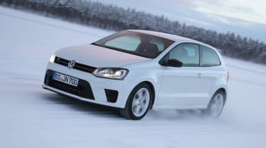 Volkswagen Polo R white front