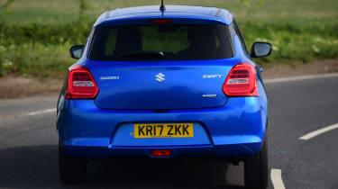 Suzuki Swift - rear cornering
