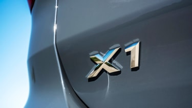 BMW X1 review - badge
