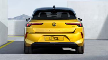 Vauxhall Astra - full rear