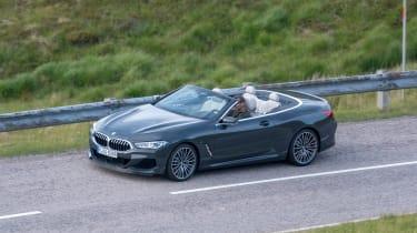 BMW 8 Series Convertible - spyshot