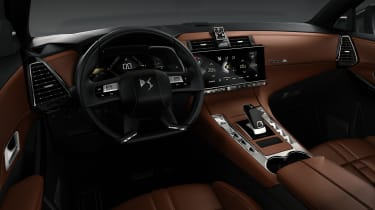 DS 7 Crossback - interior brown