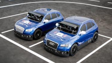 Audi Virtual Training Car RC cars