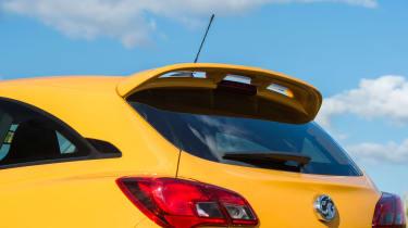 Vauxhall Corsa GSi - rear detail