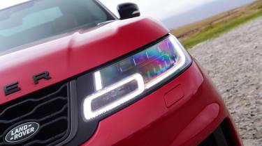 Range Rover HST - headlight