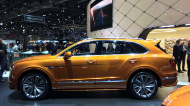 Bentley Bentayga Speed side
