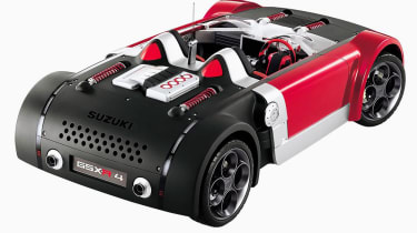 Suzuki GSXR - rear