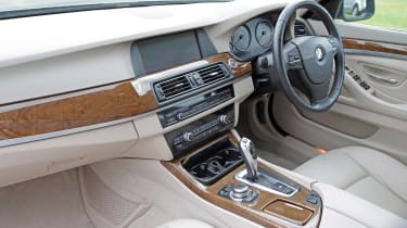 Used BMW 5 Series - cabin