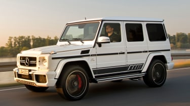 Mercedes-AMG G63 Edition 463 - driving