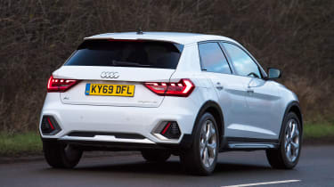 Audi A1 Citycarver - rear cornering