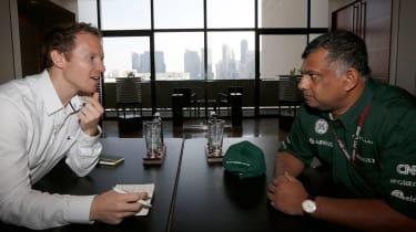 Tony Fernandes and Jack Rix