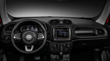 Jeep Renegade PHEV - cabin