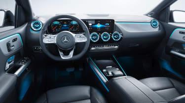 Mercedes B-Class - studio cabin