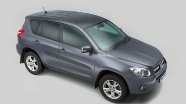 Used Toyota RAV4 - above