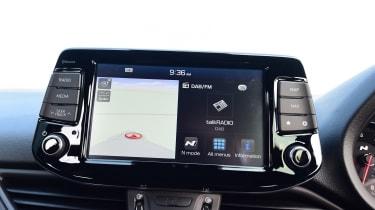 Hyundai i30 N - sat-nav