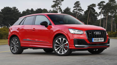 Audi SQ2 - front stationary