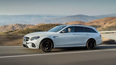 Mercedes-AMG E 63 Estate - side