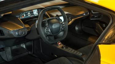 Ford GT Norway road trip - interior