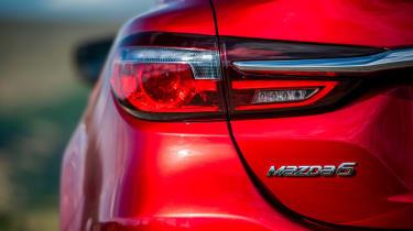 New Mazda 6 2018 facelift rear light