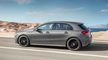 New Mercedes A-Class - side