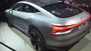 Audi e-tron Sportback concept - rear
