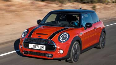 MINI hatch - front/side