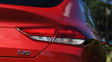 Hyundai i30 Fastback - taillight