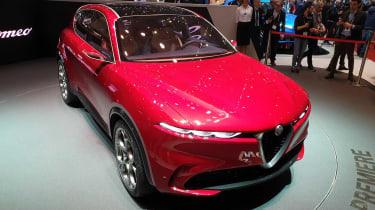 Alfa Romeo Tonale - Geneva front above