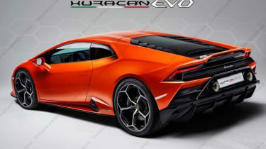 Lamborghini Huracan facelift teaser