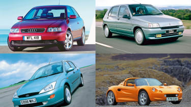 The best cars of the 1990s - header