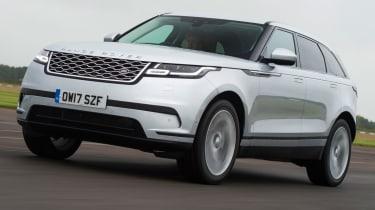 Range Rover Velar - front quarter action