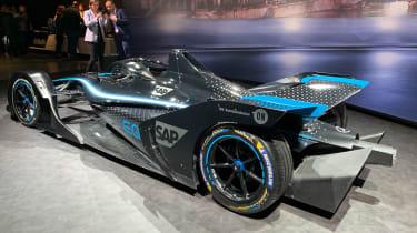 Mercedes Formula E - Geneva rear
